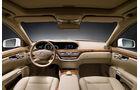 Mercedes S 400 Hybrid, Cockpit