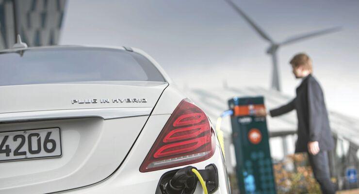 Mercedes S 500 Plug-in Hybrid