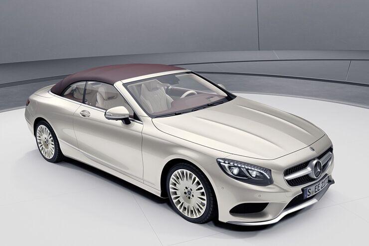 Mercedes S-Klasse Cabriolet 2018