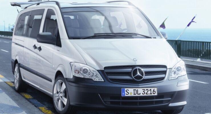 Mercedes Vito mit neuen Varianten