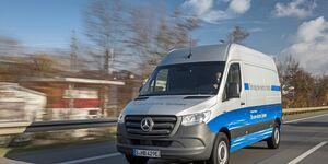 Mercedes eSprinter Roadshow 2019 Elektro-Transporter Elektro-Sprinter