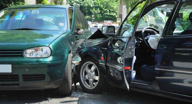 Mietwagen, Unfall