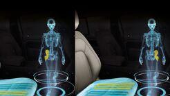 Neuartiger Sitz von Jaguar Land Rover