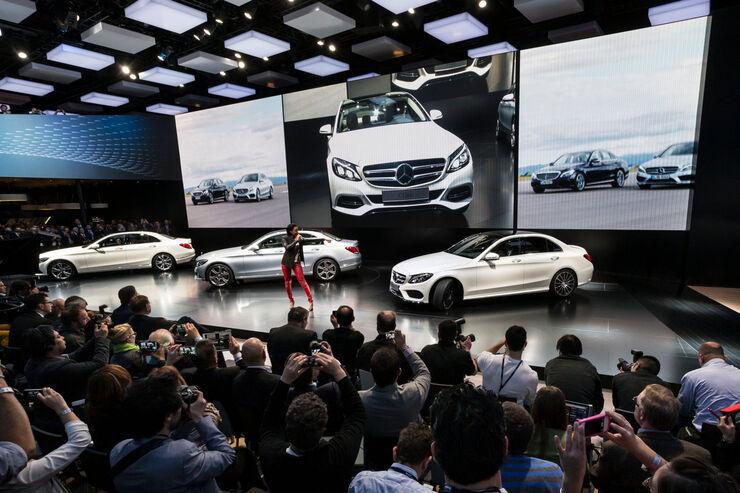 Neue Mercedes C-Klasse