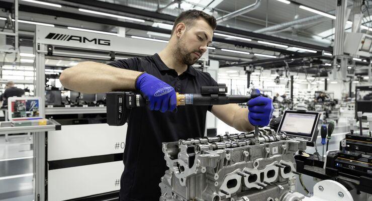 Neues AMG-Triebwerk