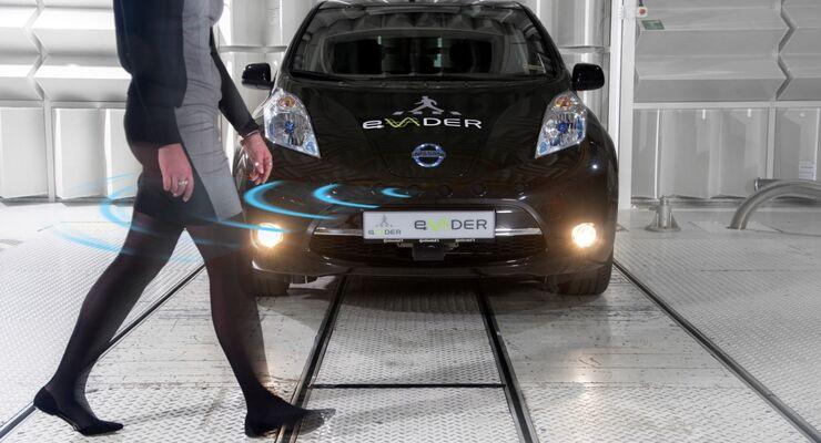 Nissan Leaf Fußgängerwarner