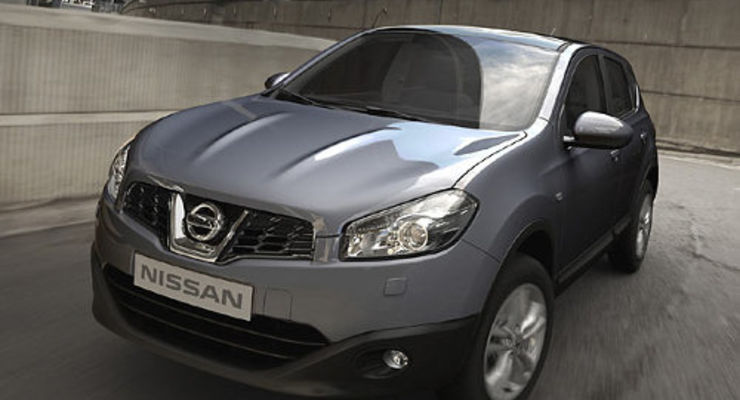 Nissan Qashqai mit Facelift