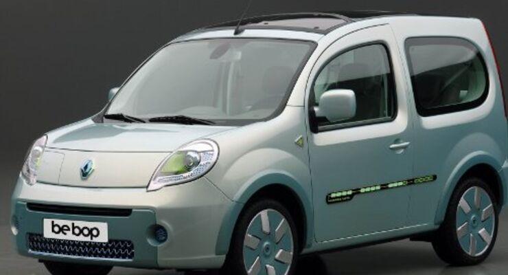 Null Emission für den Renault be bop