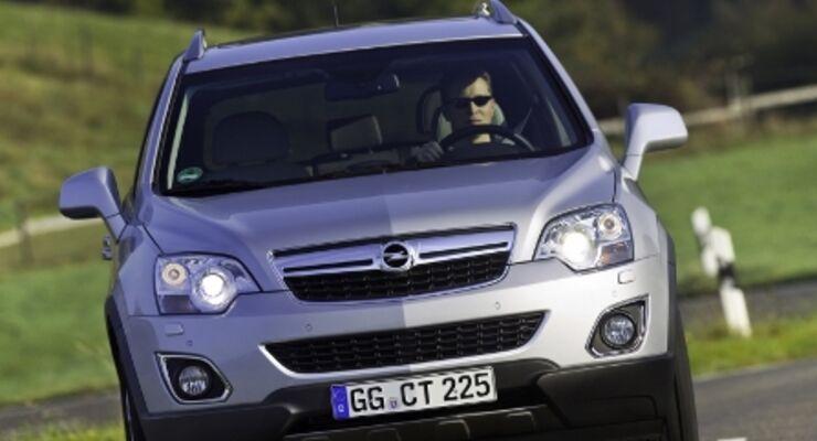 Opel Antara mit aufgefrischtem Äußeren