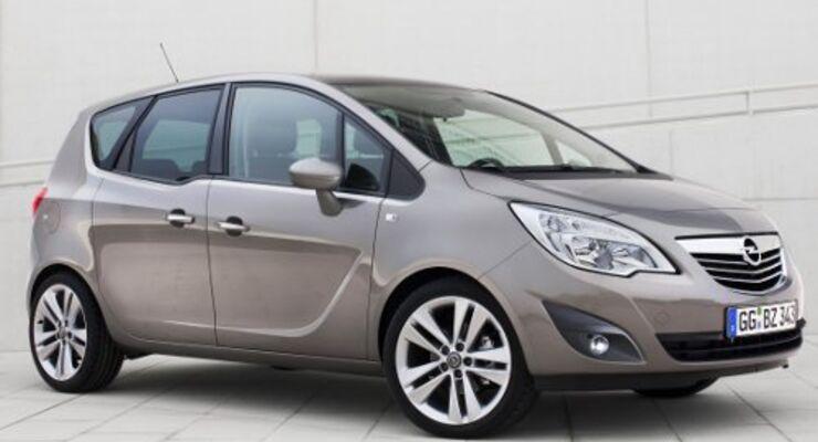 Opel Meriva meistverkaufter Minivan
