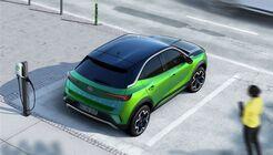 Opel Mokka-e 2021, E-Auto, Ladesäule, laden