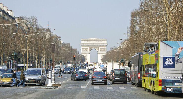 Paris, Verkehr, Ausland