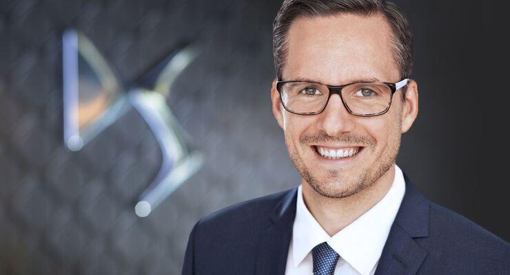 Patrick Dinger DS Automobiles Direktor Markenentwicklung