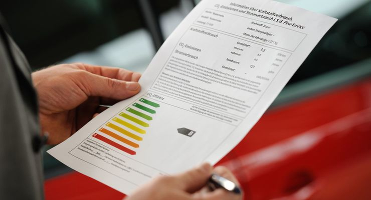 Pkw-Label, Dena, Effizienz