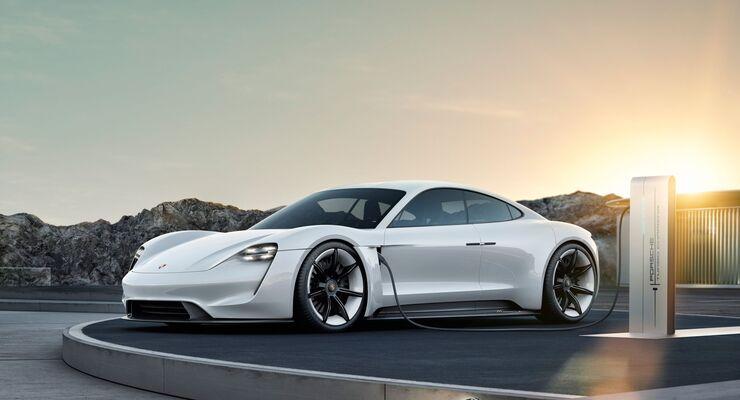 Porsche Mission-e Taycan