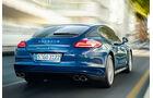 Porsche Panamera S Hybrid, Heckschriftzug