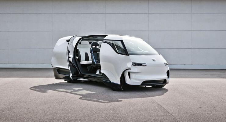 Porsche Vision Renndienst Concept