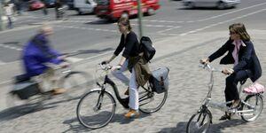 Radweg Radfahrer