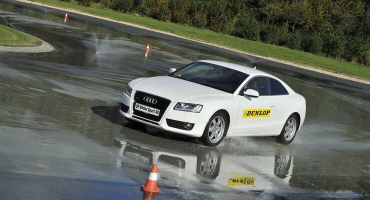 Reifen Goodyear-Dunlop, Grip, Aquaplaning, Fahrerassistenzsysteme