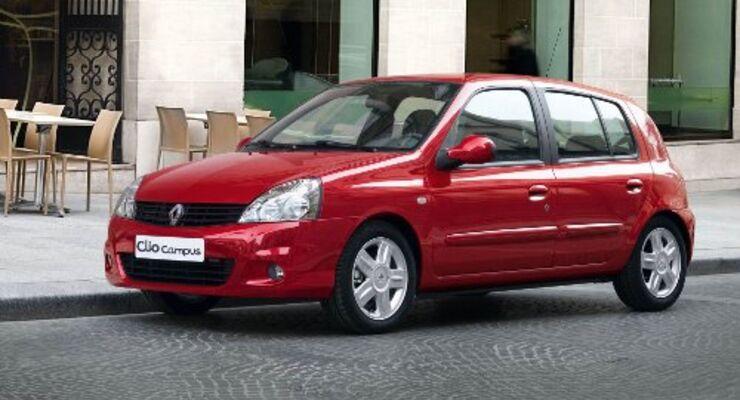 Renault Clio Campus mit Flüssiggasantrieb