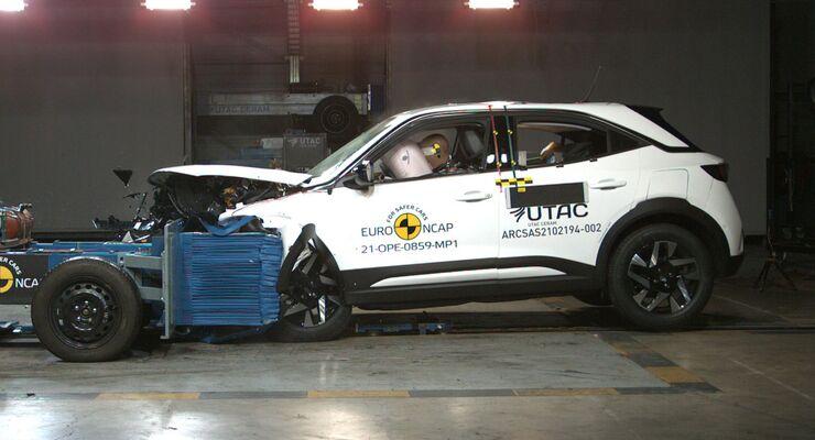 Renault Kangoo Crashtest 2021
