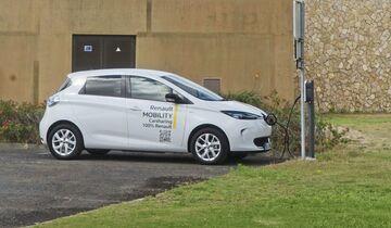 Renault Zoe V2G Projekt Porto Santo