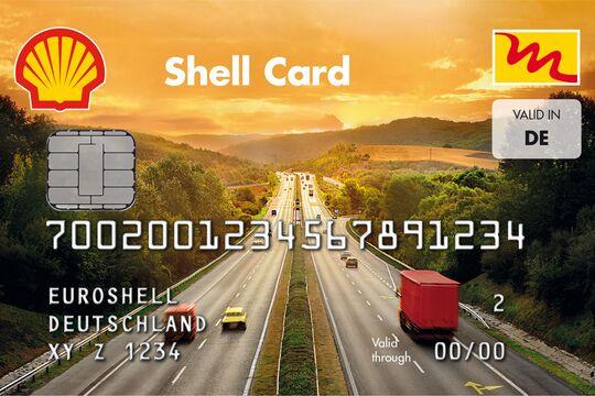 Shell Multi Card, tankkarte