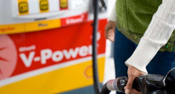 Shell-Tankstelle