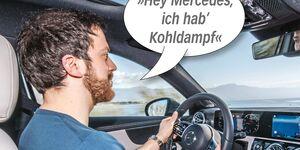 Sprachsteuerung Mercedes A-Klasse MBUX
