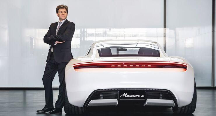 Stefan Weckbach, Leiter Porsche Taycan