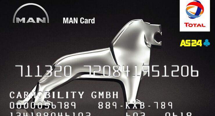 Tankkarte MAN, total