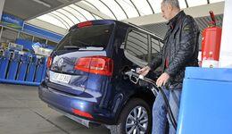 Tankstelle, Spritpreise