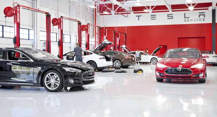 Tesla Werkstatt