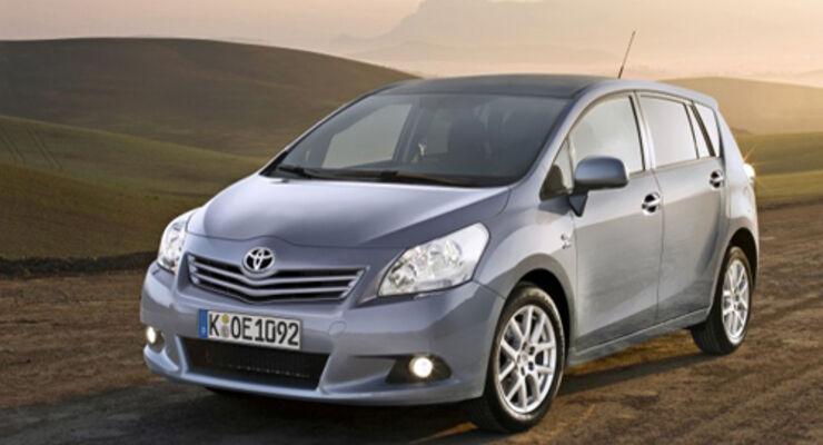 Toyota Verso mit fünf Sternen bei NCAP