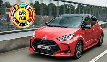 Toyota Yaris, Car of the Year 2021
