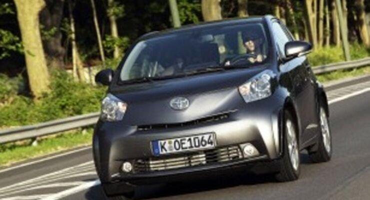Toyota iQ siegt bei Importen