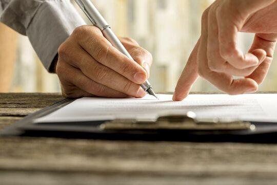 Unterschrift 2021