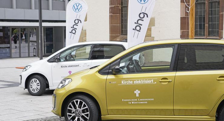 VW E-Up, Evangelische Landeskirche in Württemberg
