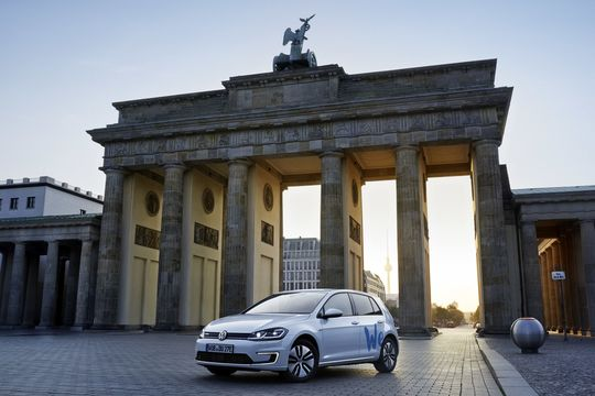 VW, We Share, Carsharing, e-Golf