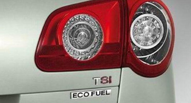 VW kombiniert im Passat Erdgas und TSI