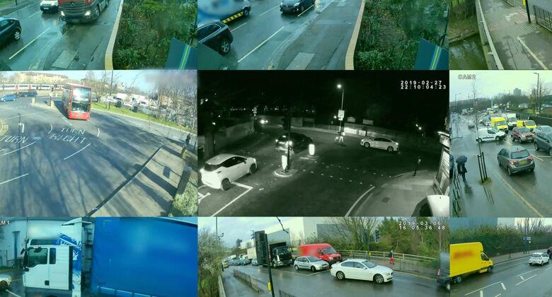 Verkehrsüberbachung
