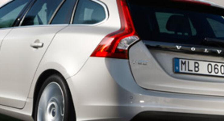 Volvo V60 - Formensprache