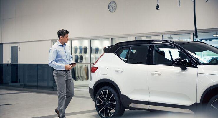 Volvo, Werkstatt, Sachverständiger, Gutachter, digitales Schadenmanagement