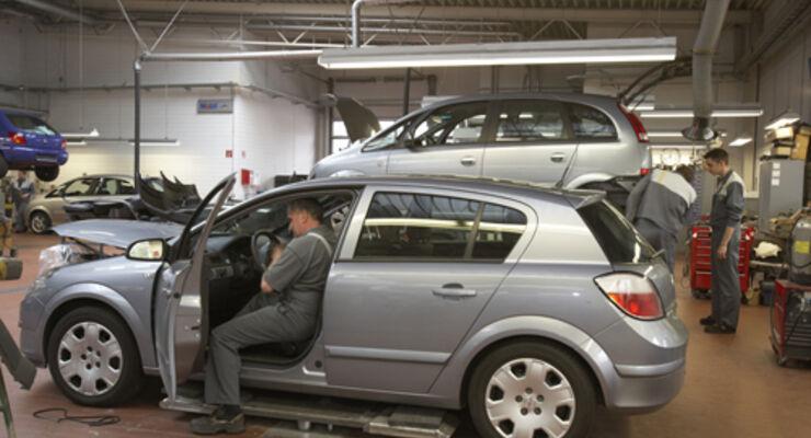 Werkstätten mögen Full-Service-Leasing