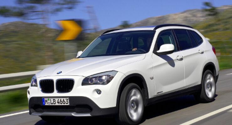 X1: BMW greift Tiguan und Co. an