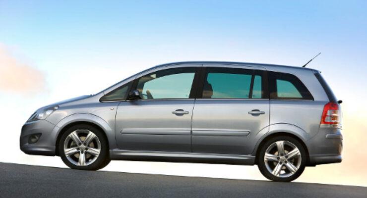Zafira: Spar-Van von Opel