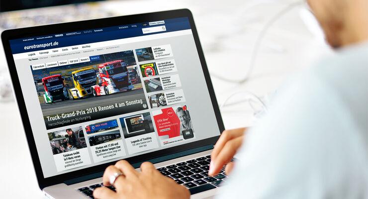 eurotransport Relaunch Laptop