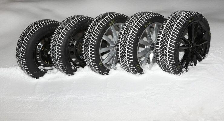 winterreifen im test schmal ist im schnee besser firmenauto. Black Bedroom Furniture Sets. Home Design Ideas