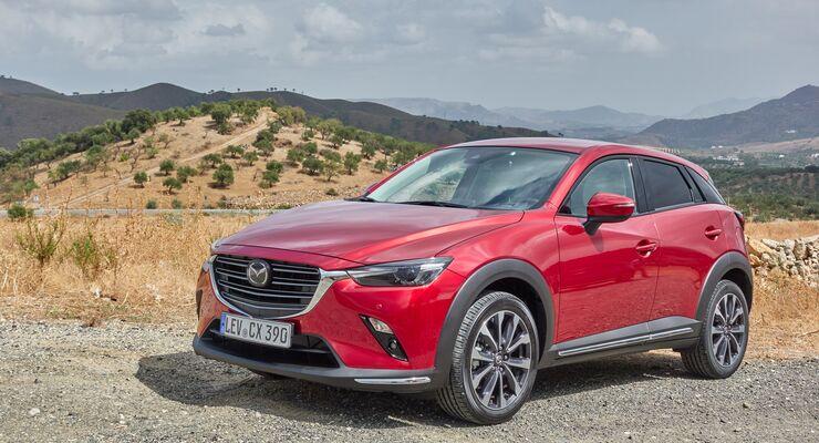 Mazda Cx 3 2019 Im Fahrbericht Mehr Hubraum Weniger Schadstoffe